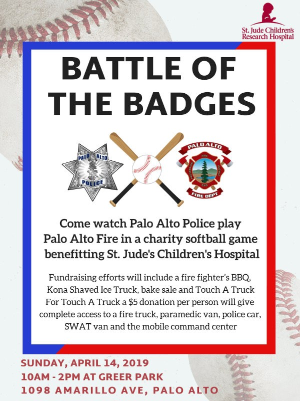 Don't Forget - This weekend, 4/14 Battle of the Badges